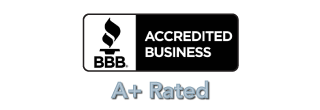 Accredited through the Better Business Bureau® (A+ rated)